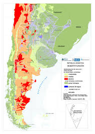 Central And South America Map by Soil Issues In Central And South America Desertification In Argentina