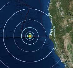 Usgs Earthquake Map California Usgs Reports Moderate Quake Off Of Humboldt County Second Quake