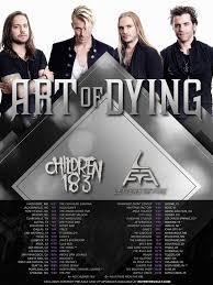 art of dying announce u s tour dates u2013 i u0027m music magazine