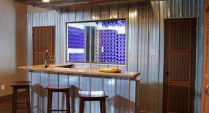 Man Cave Ideas For Small Spaces - bar amazing rustic basement bar the wet bar in the family room