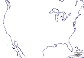america map no borders united states of america usa free maps free blank maps free