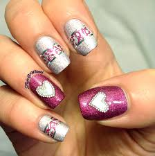 valentine u0027s day nail art contest 2015 winner nailbees
