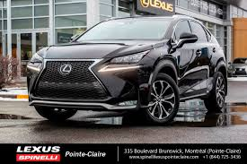 lexus hybrid a vendre used 2016 lexus nx 200t f sport series 1 awd back up cam leather