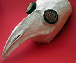 Halloween Crafts Made Out Of Paper by Plague Doctor Mask For Halloween 3 Steps With Pictures