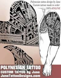 100 polynesian tribal tattoo symbols and meanings half