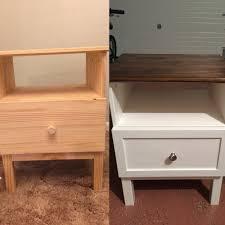 bedroom nightstand dark cherry nightstand wood night table