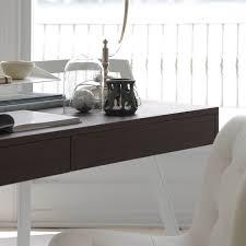 Schreibtisch Dunkelbraun Bontempi Zac Designer Schreibtisch Emporium Mobili De