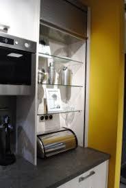 volet roulant meuble cuisine le meuble à rideau secret des cuisines impeccables