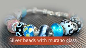 murano glass beads bracelet silver images Silver murano beads bracelets elf925 is sterling silver jpg