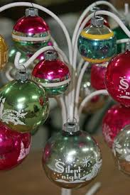 39 best shiny brite ornaments images on glass