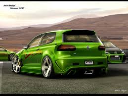 volkswagen golf gti by active design on deviantart