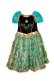 Anna Costume Amazon Com Frozen Princess Anna Costume Anna Dress Size 2t Clothing