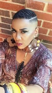 balding black women natural hair syyle boy cut waves kp barber lounge downtown dallas 711 elm street
