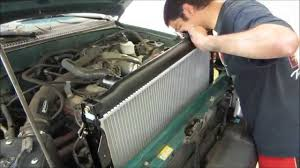 1997 toyota tacoma repair manual tacoma radiator replacement youtube