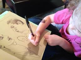 artist collaborates with her 4 year old daughter to create amazing