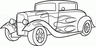 rat rod coloring pages 29438 bestofcoloring com