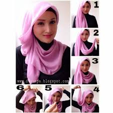 tutorial hijab segi empat paris simple little things from my closet simple hijab tutorial