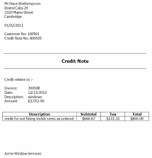 example of a invoice credit notes and invoicing software credit against an invoice