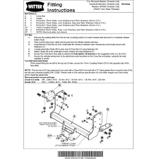 renault trafic towbar wiring instructions with electrical images