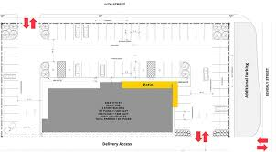 Strip Mall Floor Plans Double Decker Heights Strip Center Planned In Place Of Shipping