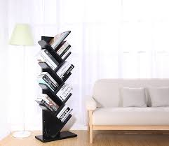 Babyletto Tree Bookcase White by Amazon Com 9 Shelf Tree Bookshelf Superjare Book Rack Bookcase