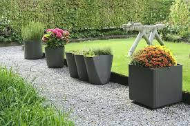 patio ideas patio planter ideas contemporary outdoor plant pots