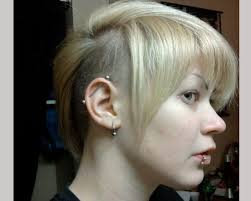 women hair cut to cover bald spot on top of head 25 glamorous shaved hairstyles for women slodive