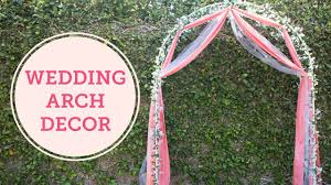 wedding arches diy diy wedding arch decoration balsacircle