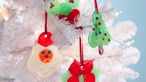 candy ornaments poinsettia candy ornaments recipe bettycrocker