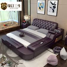 usd 1347 67 simple modern master bedroom bed tatami leather bed