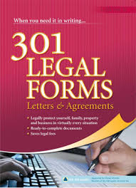 Free Legal Letters by 301 Legal Forms Letters And Agreements Sample Chapter