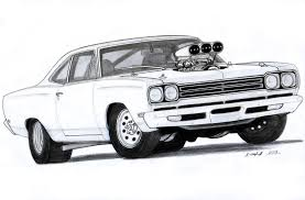 vintage cars drawings 1970 dodge charger r t drawing by vertualissimo deviantart com on