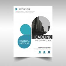 design photo book cover blue creative annual report book cover template vector free download