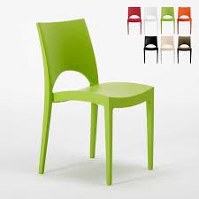 chaise cuisine chaise en polypropylène empilable pour cuisine maison café bar