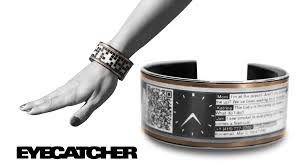 bracelet hand display images Eyecatcher the smart large display super charged wearable by 0&amp