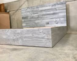 Reclaimed Wood Headboard by Handmade With Love By A And Helpers By Thelakenest On Etsy