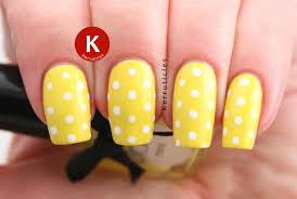 this totally cute and attractive nail art design plays around with