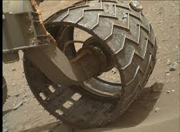 rock stuck in one of the curiosity rover u0027s wheels space