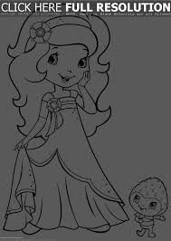strawberry shortcake coloring pages strawberry shortcake 7813