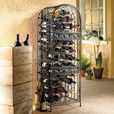 metal wine rack table organizer wrought iron wine racks unique wine racks wire wine rack