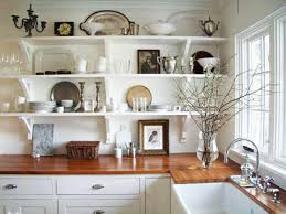 open kitchen shelf ideas what to put on open kitchen shelves shelving ideas for small