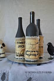 halloween decorations potion bottles upcycled potion bottles