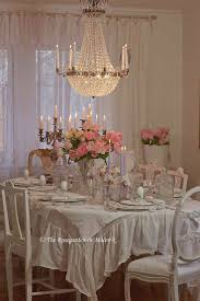 Shabby Chic Tablecloth by Best 25 Ruffled Tablecloth Ideas On Pinterest Slipcovers