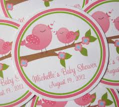 photo baby shower tags and labels image
