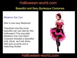 Dancer Halloween Costume Selection Burlesque Halloween Costumes