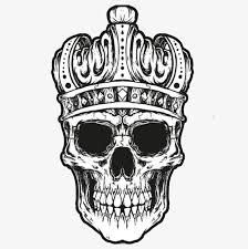 skull with crown imperial crown imperial crown png image and