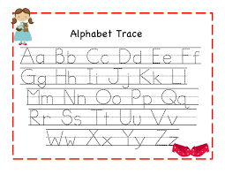 fun learning with abc tracing worksheets loving printable