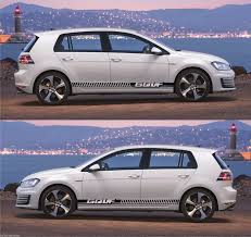 volkswagen golf stance car stripes and graphic kit infinity270
