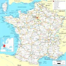 printable road maps printable driving maps 8 large detailed road map of france with all