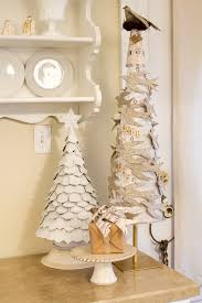 White Christmas Paper Decorations by 208 Best Christmas Trees Of Paper Images On Pinterest Christmas